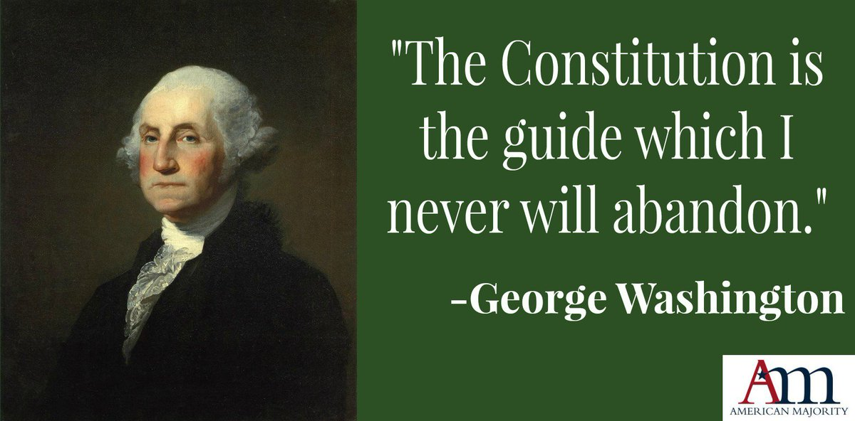 Retweet if you agree that all of our elected officials should live by President Washington's words. #tbt #2A #tlot https://t.co/1L2MYu5BmW