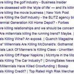Millennials, a generation of MURDERERS https://t.co/I7PimFWTaO