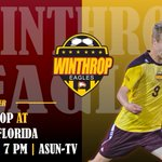 #GameDay @WinthropSoccer Live Stats> https://t.co/VvfeDE1mjE Live Video> https://t.co/8WeIL5vmMs https://t.co/g6UOMQSgdt