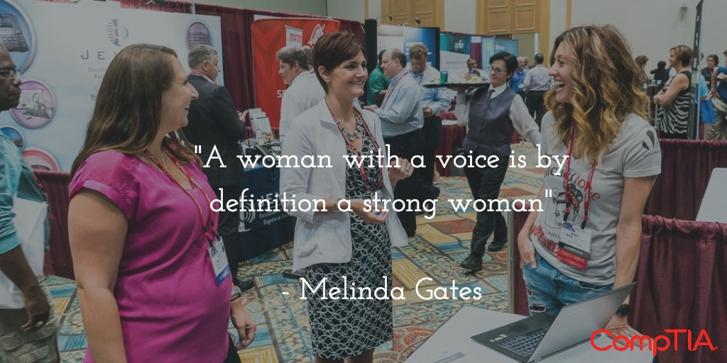 Happy National #WomensEqualityDay! #GirlsInTech #NoCeilings @CompTIA_AWIT @crisgrey @britt_vonroden https://t.co/0DgMRDT8Z6