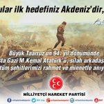 26 Ağustos 1071de vatana vurduğumuz mührü sökmek isteyenlere karşı 26 Ağustos 1922de #BüyükTaarruzu başlattık. https://t.co/aWdRRvxNsv
