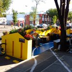 The Isaak Memorial Parklet is once again set up on Whyte by 102 Street. Youre invited to stop in and reflect. #yeg https://t.co/vjIm52VVzP