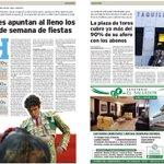 Los hoteles de #Valladolid apuntan al lleno los dos fines de semana de @fiestasVLL https://t.co/4AG9T9fNrG