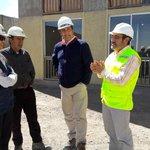 Autoridades regionales visitaron el conjunto habitacional Las Vegas, el cual presenta un 60% de avance. #Calama. https://t.co/Mn9ddvegfL
