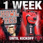 ONE WEEK! Hope to see YOU at Centennial Bank Stadium next Friday for the home opener against Toldeo! #WolvesUp https://t.co/D1cnmlxnNd