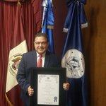 """""""Reconozco y agradezco al alcalde por la por su reconocimiento y por la gran labor que hace"""", rector Nelson Zárate. https://t.co/VNLewvNrFZ"""