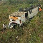 More than 160 school children hurt in 3 bus crashes today. #Umbumbulu (50) #Potchefstroom (60) #Amanzimtoti (52) https://t.co/lYdevIE8KA