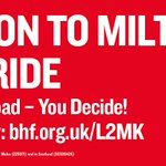 Our @TheBHF London to Milton Keynes Bike Ride take place on 1st Oct finishing @TheParksTrust Willen Lake. Dont miss https://t.co/ax9FrXVhyO
