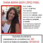 #Colabora ¿Has visto a #DianaQuer? Ha #desaparecido en A Pobra do Caramiñal #ACoruña  Si la ves 📞062 Tu RT ayudará https://t.co/Eyy6QAuMOZ