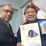Alcalde de Breña CPC. Ángel Wu Huapaya, #Apoya, #Felicita a la IASD y se Compromete con #RompiendoElSilencio. https://t.co/sgcfcS62fM
