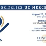 Going to tonights @FresnoGrizzlies game? Well be there! @UCM_Chancellor is throwing the first pitch. #BobcatStrong https://t.co/u2p82HStnm