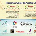 Ven y Disfruta del @arpafest 2016 el 2, 3 y 4 de Septiembre en #Cancún y en #PuertoMorelos. ¡Entrada Libre! https://t.co/dxxQ8UIC2u