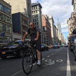 Hello from New York, @SenEaton. I just walked over to 5th Ave, WHERE THEY BUILT A BIKE LANE. https://t.co/zEshadtLoN
