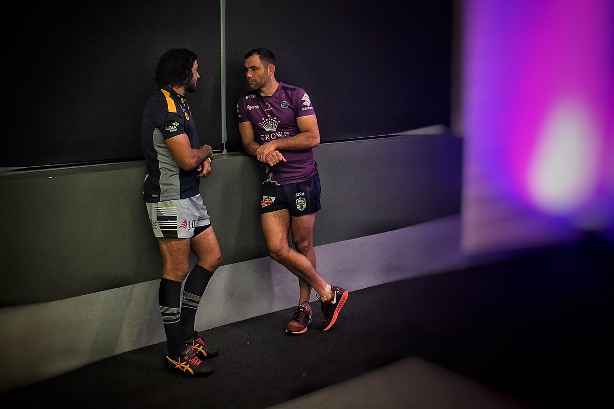 The calm before the #storm  #NRLFinals #nrlstormcowboys https://t.co/1qW7fKIixw