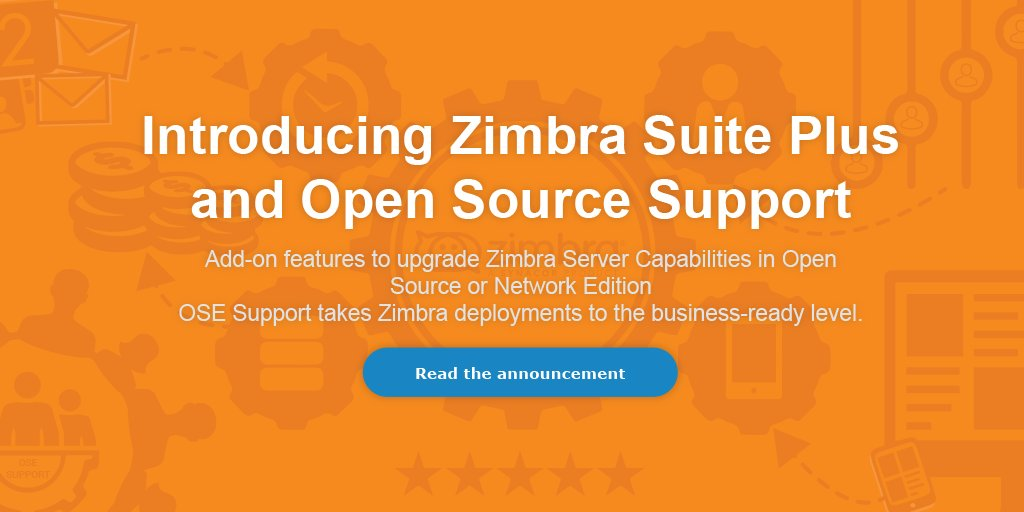 Synacor Launches new support program for 400M+ @Zimbra open source users and new add-ons https://t.co/f9T0p4lDjy https://t.co/nlSoEYJ0B5