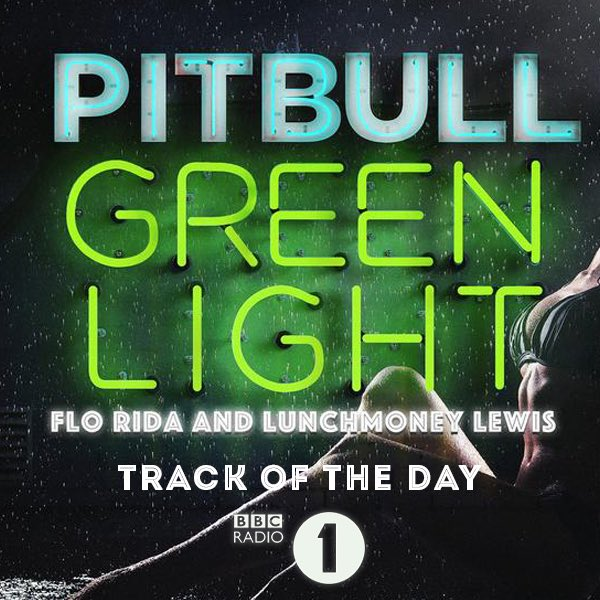 #UK!! #GreenLight featuring Flo Rida and LunchMoney Lewis is Radio 1's Track of the Day! @BBCR1 #DALE https://t.co/Hn8Gn50VEi