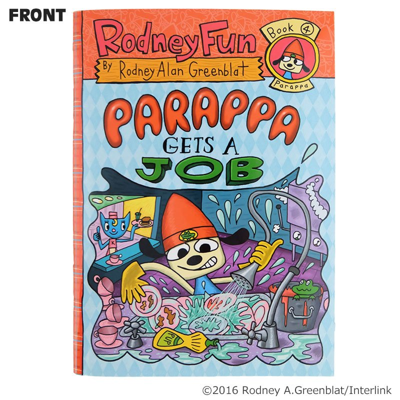 【 #パラッパラッパー 】個性溢れる人気キャラクターのノートが新登場!イラストの絵柄は全4種類!! #パラッパ #PJベ