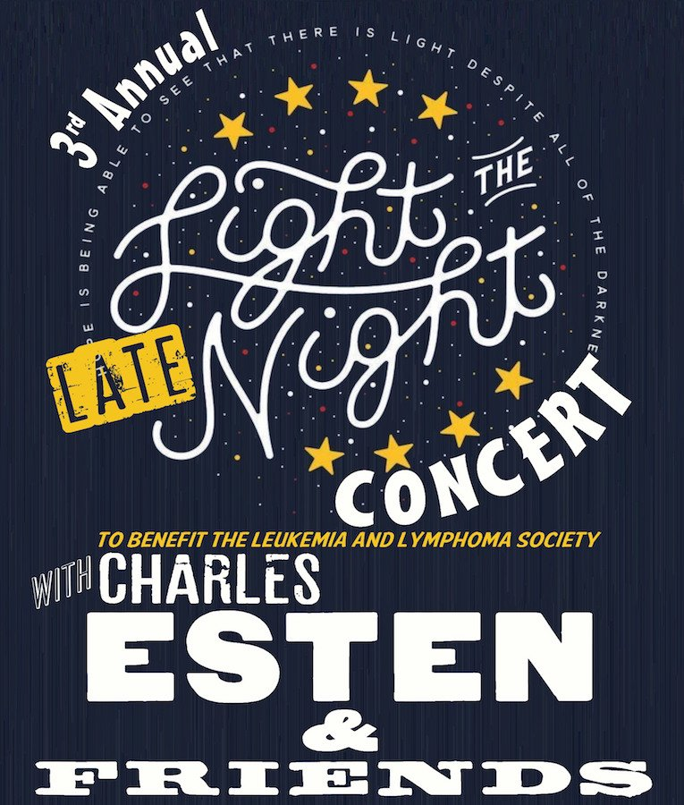JUST ANNOUNCED: 3rd Annual Light the Late Night Concert w/ @CharlesEsten & Friends on 10/21 to benefit @LLSusa! https://t.co/MEEVE87Qss