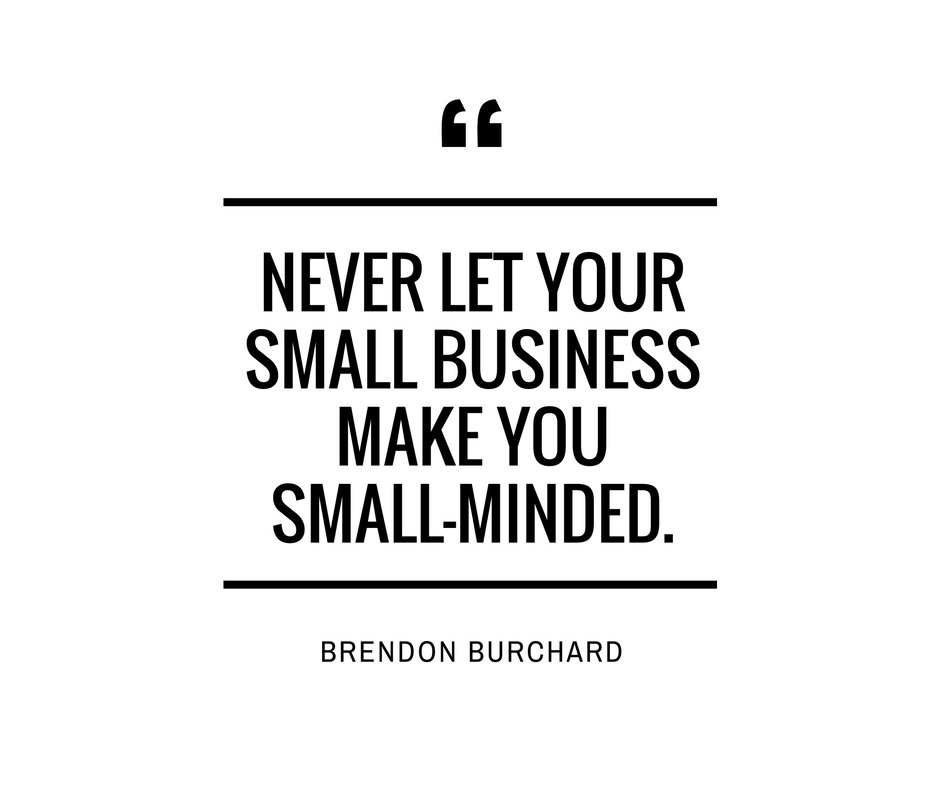 Think bigger.   #ThursdayThoughts #smallbusiness #mindset https://t.co/xa45tBntnh