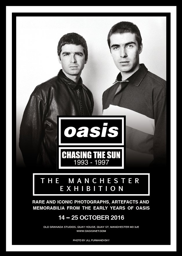 RT @oasis: The exhibition will b