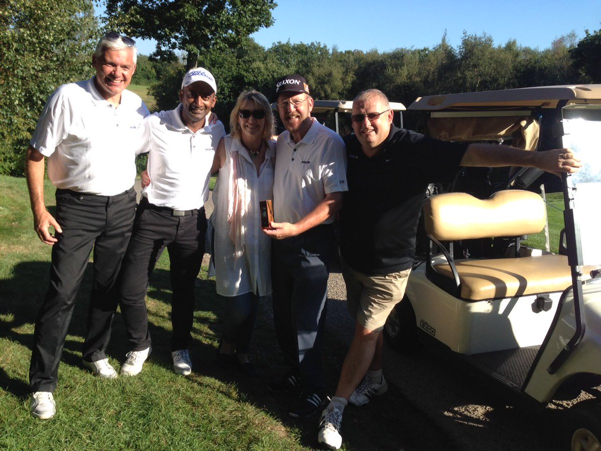 1/2 Huge thank you to everyone who attended our sunny Golf Day & auction yesterday! https://t.co/jh2mwdN4nz