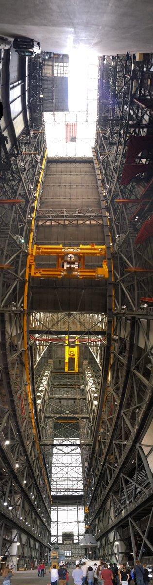 Panoramic view inside @NASA @NASASocial #NASASocial #OSIRISREx https://t.co/ur3GxcbTjY