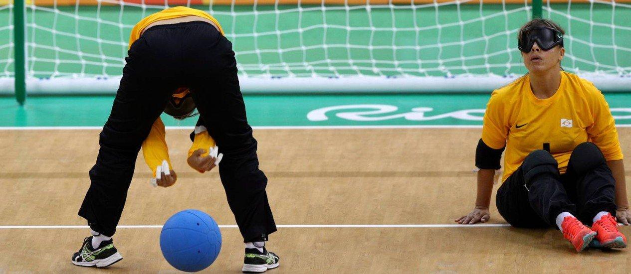 Seleção feminina de goalball vence na estreia na Paralimpíada. https://t.co/BPAojqv1k1 https://t.co/1RBASgJG9l