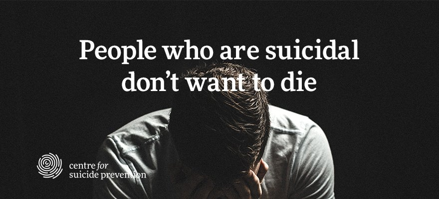 Most people who die by suicide do not want to die - they want the pain of living to stop: h…/buff.ly/2bThg48 https://t.co/1FDsYOGFRs