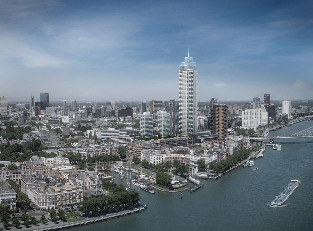 Rotterdam geeft groen licht voor het project De Zalmhaven, project van 215 meter hoog. Ontwikkeling van AM & Amvest https://t.co/UYwVvyDmHo