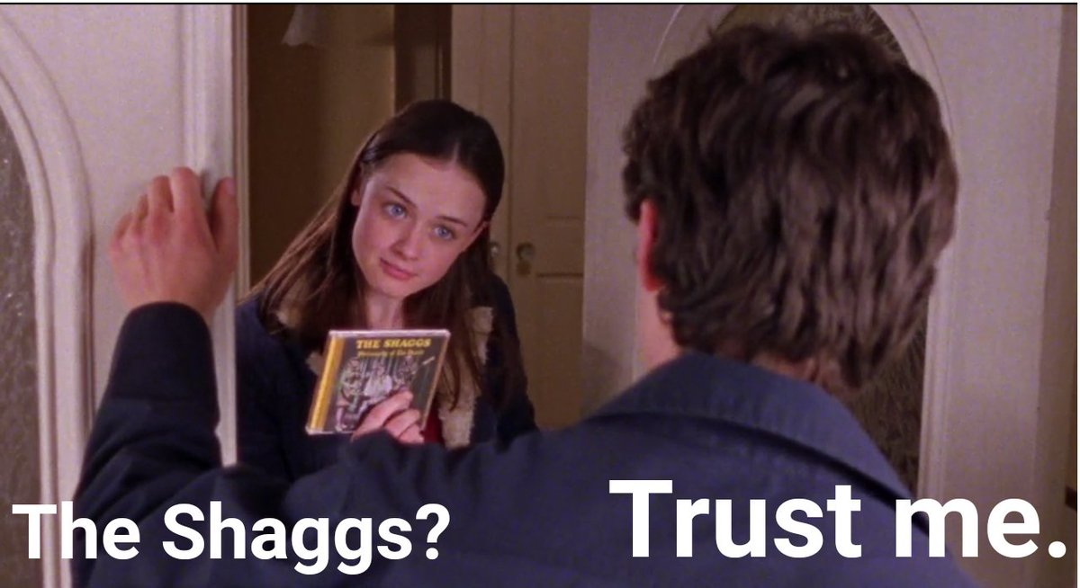 @lightintheattic Hey, remember when The Shaggs CD showed up in the Gilmore Girls? https://t.co/rWmgubp1Wq