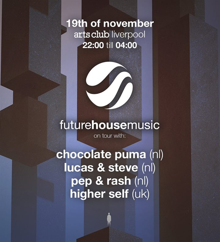 On sale tomorrow! @FutureHousMusic presents @ChocolatePuma + @lucasandsteve + @PepandRash + @WeAreHigherSelf. https://t.co/xFqZzTpc7t