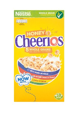 Nestle Honey Cheerios Cereal https://t.co/d5wpClsE0Y