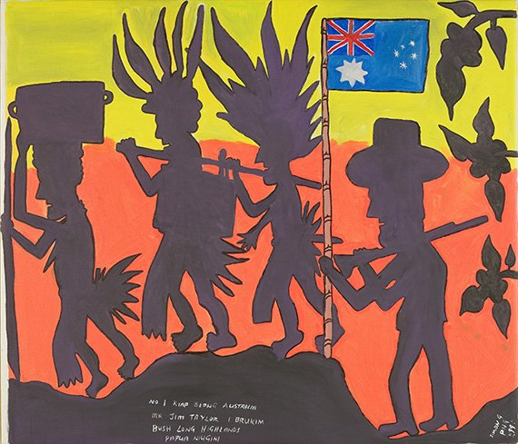 40yrs contemporary visual art in PNG explored in new exhibition No1. Neighbour https://t.co/vvxp158Yga #comingsoon https://t.co/5DuqoXgWqW