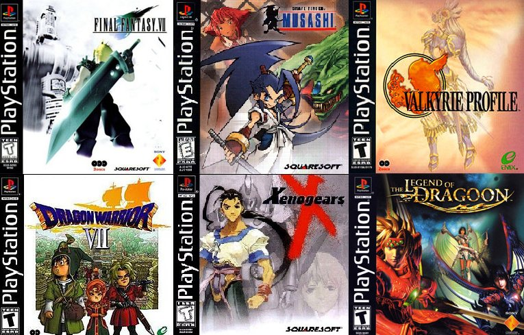 The JRPG-heavy PlayStation was released 21 years ago today in the US. Possibly the best console for JRPGs. https://t.co/74mqcI18QJ