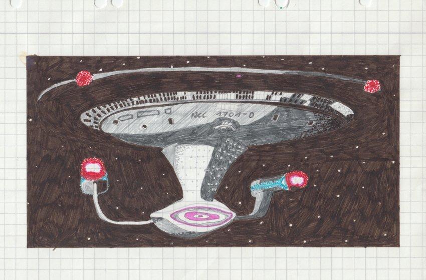 50 Jahre StarTrek = 25 Jahre Trekkie-Michl. Noch mehr Kram aus meiner Schulzeit. ^^ #StarTrek50 #TrekkieClassic https://t.co/n5K2GWbpaC