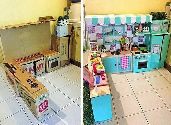 Как построить детскую кухню