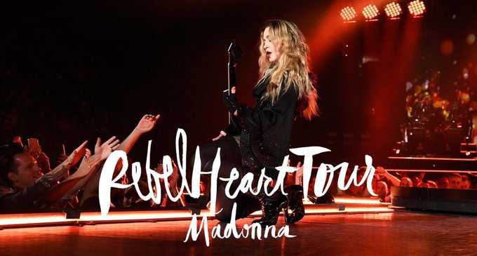 Happy Birthday Rebel Heart Tour! one year ago from Montreal  , the Queen of Pop conquered the world again!