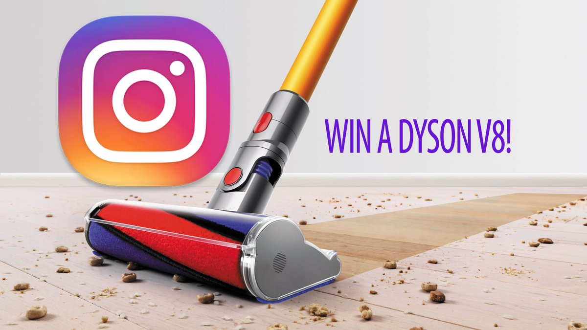 Don't forget, FOLLOW us on Instagram for a chance to win a V8! Winner will be announced 2day!https://t.co/O3eowSiJiL https://t.co/1YEF2evBCN