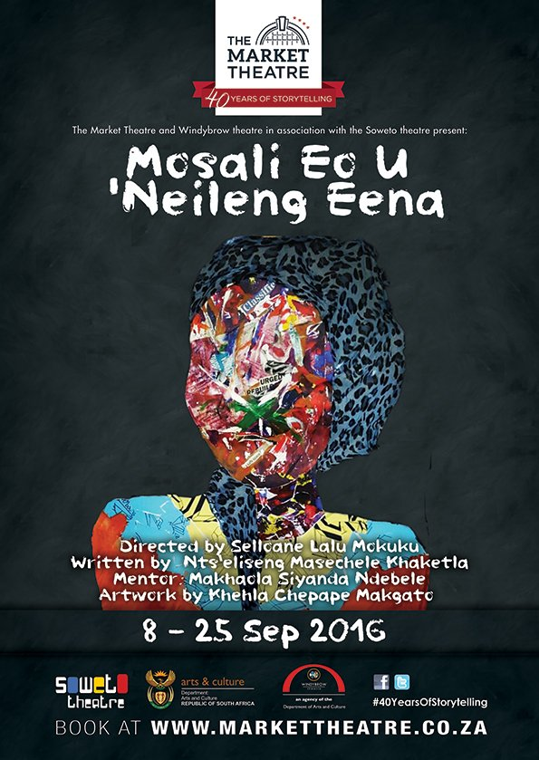 Tonight we officially open our SeSotho play titled Mosali Eo U `Neileng Eena.  Celebrating #heritagemonth #KeMosali https://t.co/PkcrlS907Z
