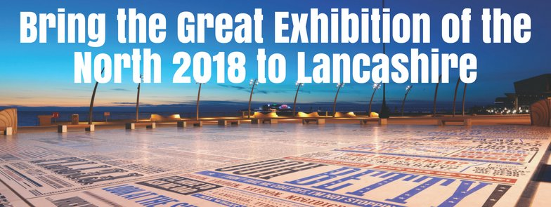 #Blackpool has a once-in-a-lifetime opportunity, to host #GreatNorthExpo2018 https://t.co/OkJoGzbGRC #BlackpoolGEX18 https://t.co/yLTWLB7nq2