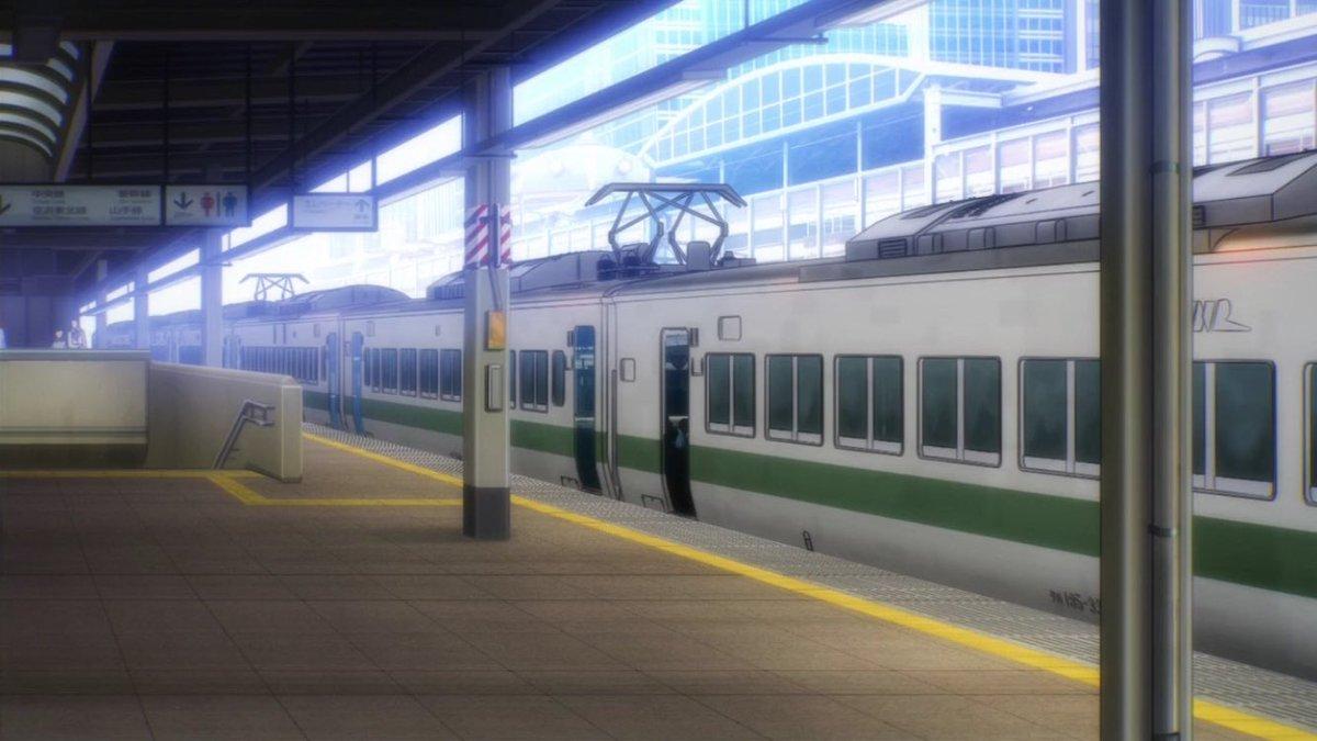 RAIL WARS! -日本國有鉄道公安隊- 1話その7185系200番台ひったくり犯を追跡するシーンで「懐かしの新幹線