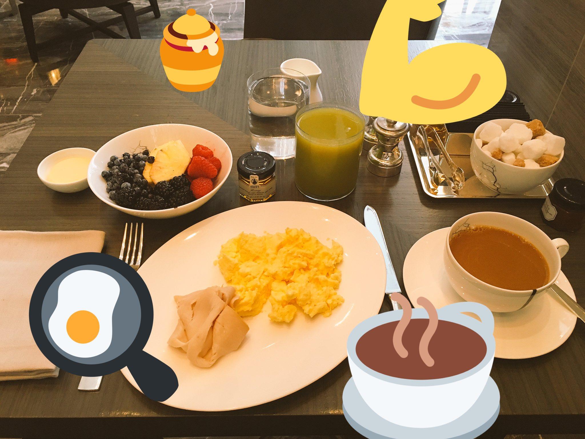 Perfect breakfast to start the day @ParkHyattNY !!! #parkhyattnewyork https://t.co/w5CE4ZeWqE