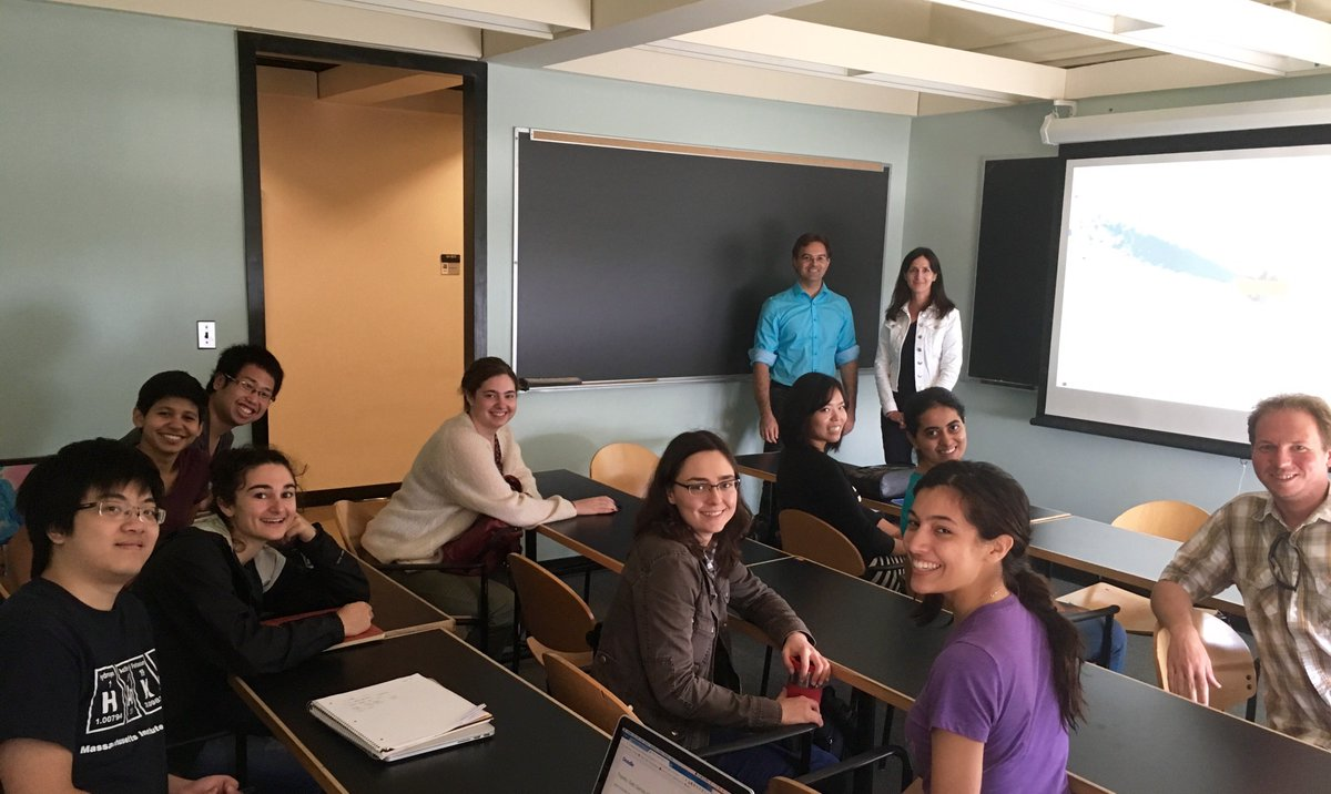 Today was the first day of Astroinformatics for Exoplanets, an @MIT class focused on TESS and #findingplanets! https://t.co/UFWNawvBU2