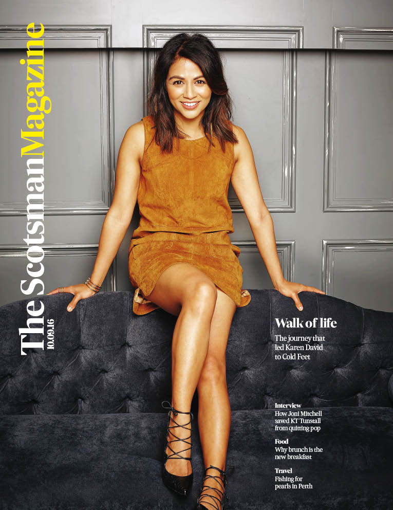 In tomorrow's @TheScotsman mag, Karen David talks Cold Feet with @JanetChristie2 + Fiona Shepherd meets KT Tunstall https://t.co/e1GMO6ktzs