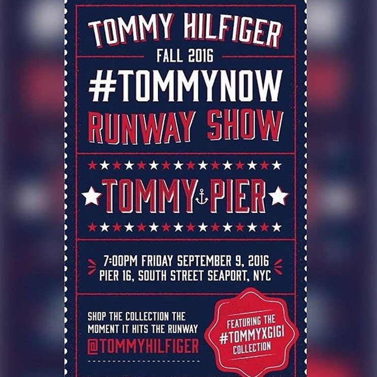 ❤️ #Tommynow omg I'm so excited and Proud beyond! ❤️ #NYFW https://t.co/XMD6yErEw7