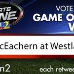 Should @wsbtv cover @McEachernFtball vs @westlaketdclub? Vote:https://t.co/xcuB50s588 Every RT=1 vote https://t.co/94lKcidbZb