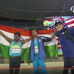 RT @indiainbrazil: India is proud of you Mariappan Thangavelu and Bhati Varun Singh for wining gold and bronze at #Rio2016Paralympics https…