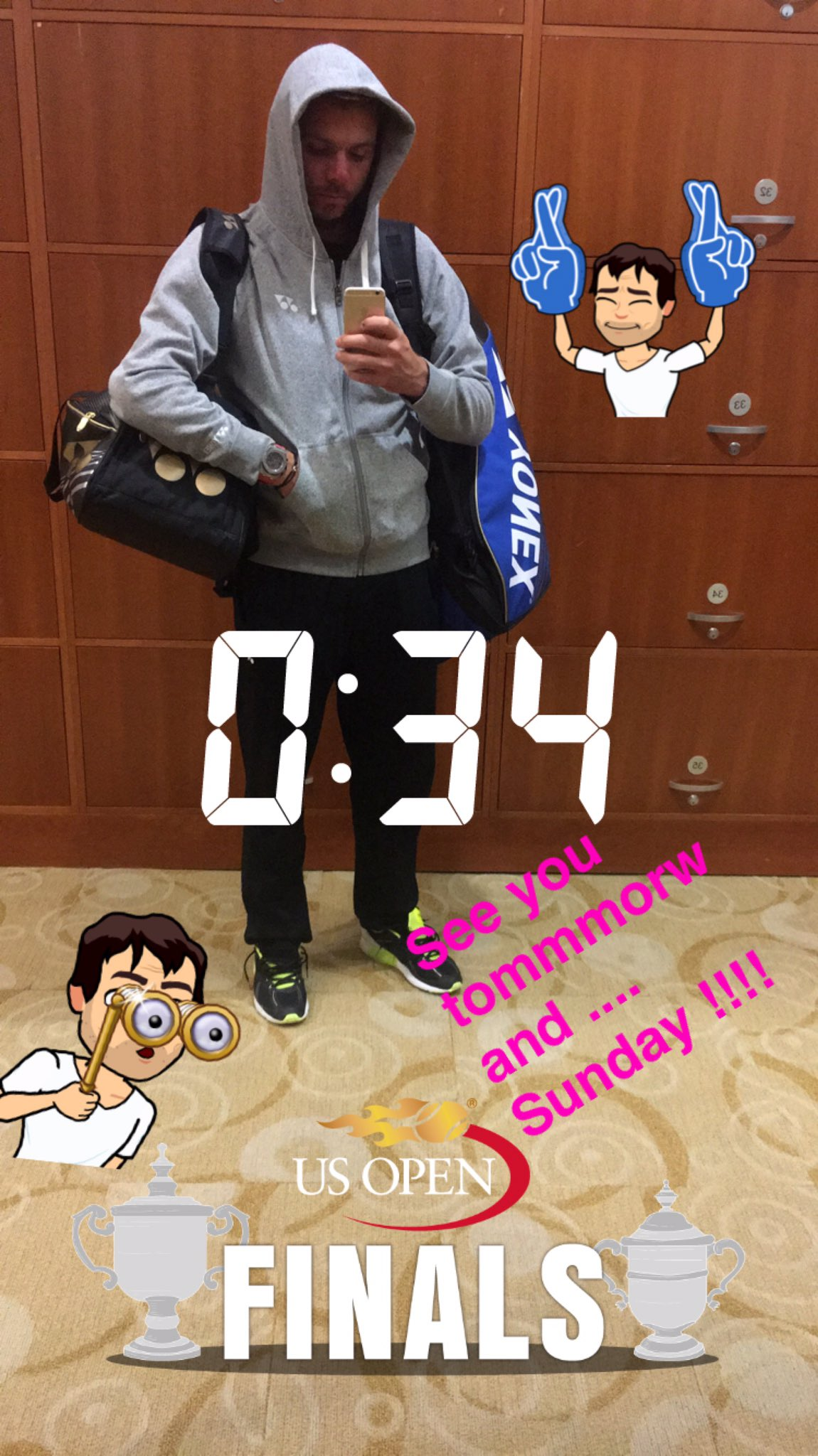 Finally going back hotel @usopen !!!! Follow me on snapchat !! �� stanwaw https://t.co/64IbM4RFeG