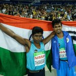 RT @IndiaInSports: Gold for Mariyappan Thangavelu and bronze for Varun Singh Bhati in men's high jump T-42 final #Paralympics #Rio2016 http…