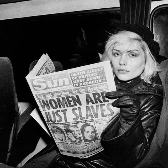 But Not Me........lol. ???? Thank you Debbie Harry ???????? https://t.co/hn4LbTNLO4
